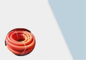 Трубы гибкие двусторонние гофрированные для кабеля